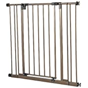 Supergate Easy Close Gate, Bronze, Fits Spaces between 28  to 38.5  Wide and 29 high