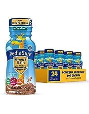 PediaSure Grow & Gain with 2'-FL HMO Prebiotic, Kids nutrition shake, Vitamins C, E, B1, & B2, Non-GMO, Chocolate, 8 Fl Oz Bottle, 24 Count