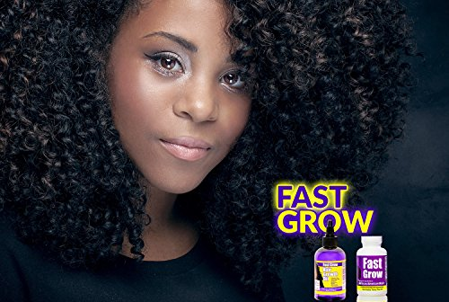 Fast Grow Black Hair Growth Vitamins With Accelerate