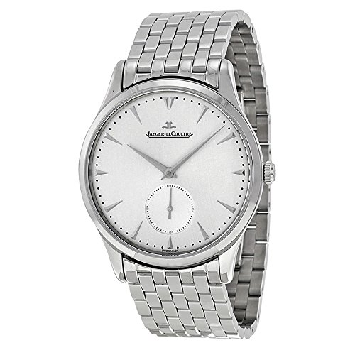 Jaeger LeCoultre Master Control Grande Ultra Thin Silver Dial Stainless Steel Mens Watch Q1358120 -  JLC-Q1358120