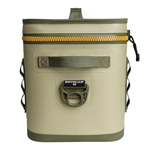 YETI Hopper Flip 12 Portable Cooler with Top Handle, Field Tan by YETI (Image #4)