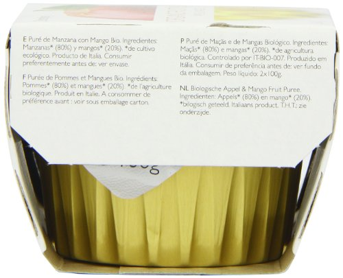 Clearspring Organic Apple and Mango Fruit Puree 2 X 100 g (Pack of 12) by Clearspring (Image #6)'