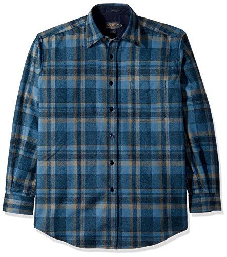 Plaid Button Front Shirt - 5