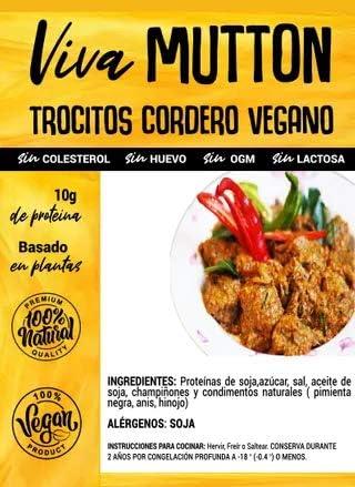 Viva Planta Trocitos de Cordero Vegano 300g | Sin Gluten ...