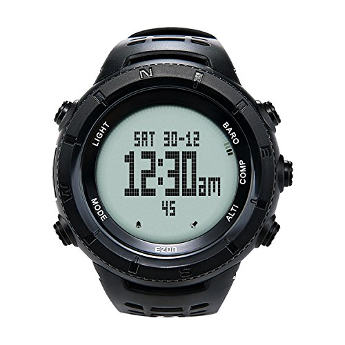 EZON Hiking Sports Watches with Compass Altimeter Waterproof Watch for Climbing H001H11