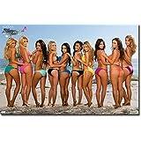 MAXIM BEACH BIKINIS POSTER Sexy Hot Girls RARE HOT NEW 22x34