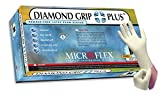 Diamond Grip Plus Latex Exam Gloves by Microflex