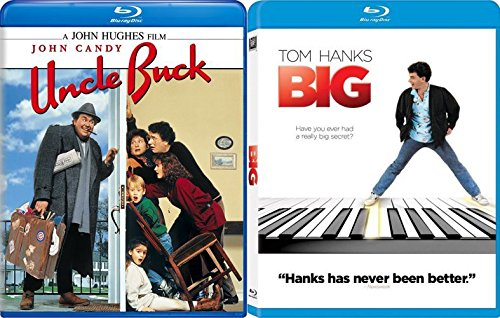 Big: Director's Cut + Uncle Buck [Blu-ray] Fun Comedy 80's movie Set