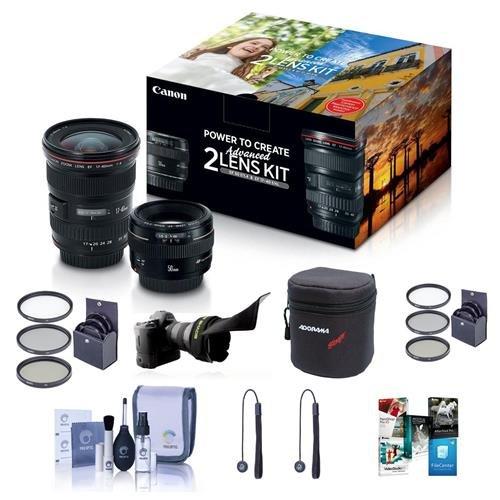 Canon EF 17-40mm f/4L USM / EF 50mm f/1.4 USM, Advanced 2...