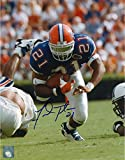 #3: Fred Taylor Florida Gators Autographed 8'' x 10'' Falling Forward Photograph - Fanatics Authentic Certified