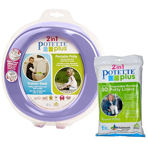 kalencom-2-in-1-potette-plus-portable-potty-toilet-training-seat-lilac-with-30-potty-liners-set