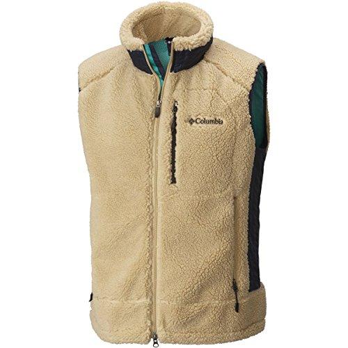 Columbia Men's Archer Ridge Fleece Vest, Sierra Tan, M
