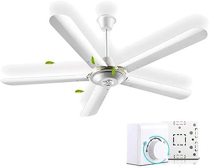MAZHONG FANS Hogar, ventilador de techo grande, hogar, 56 pulgadas ...