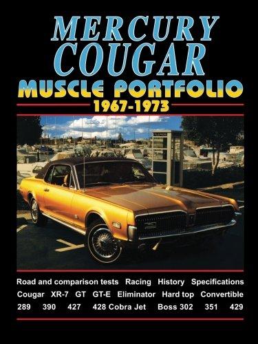 MERCURY COUGAR MUSCLE PORTFOLIO 1967-1973