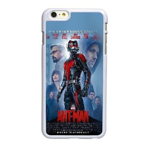 G5R05 al merveille Antman affiche héros film d'art et de illust M4F6TO coque iPhone 6 Plus de 5,5 pouces cas de téléphone portable couverture de coque blanche WX1ZXU1RI