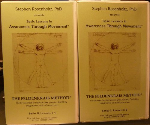 Method 2 Video Set Vhs (Awareness Through Movement - The Feldenkrais Method -Series 2 - 2 tape set - Lessons 1 through)
