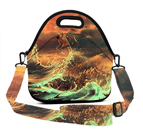 Lunch Bag, Insulated, Moisture Resistant, And Easy to