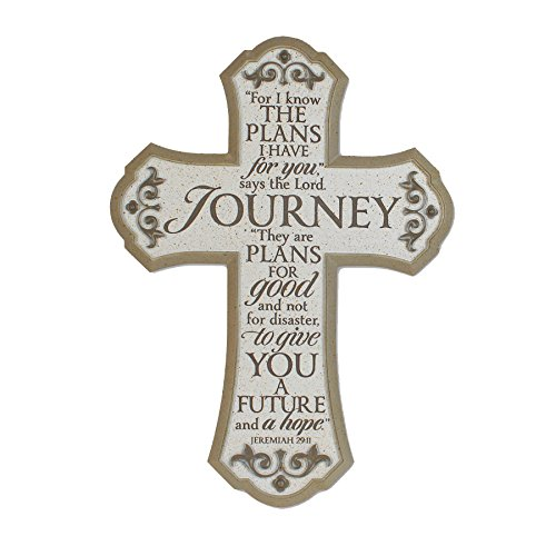 Lighthouse Christian Products Journey Wall Cross, 11 x 15