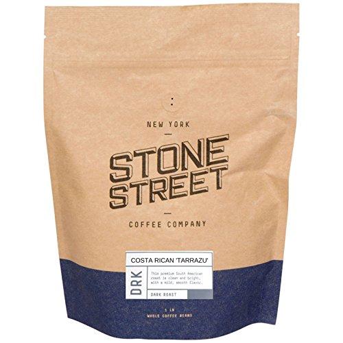 DARK COSTA RICAN 'TARRAZU' Whole Bean Coffee | 1 LB Bag | Premier Volcanic Soil/High Altitude Growing Region | Dark French Roast