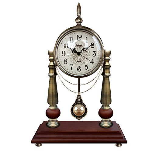 Graces Dawn Retro Simple metal style Mantel Chime pendulum, used for sale  Delivered anywhere in USA