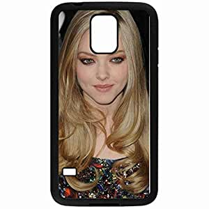 Amanda Seyfried wallpaper Skin Custom Printed Hard Plastic Protective Phone Case Cover For Samsung Galaxy S5 Suitable For Men