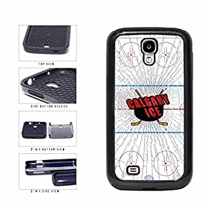 Calgary Ice 2-Piece Dual Layer Phone Case Back Cover Samsung Galaxy S4 I9500