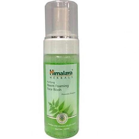 himalaya neem foaming face wash