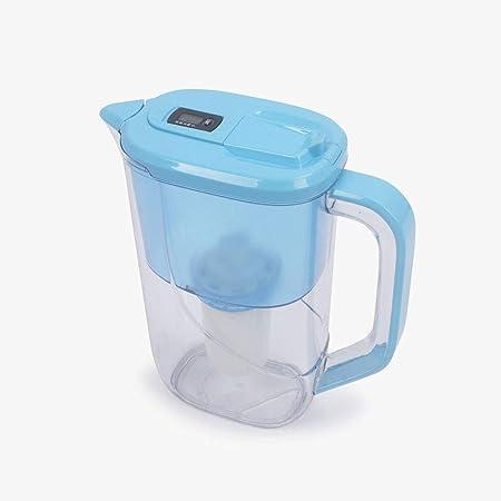 Gaone Filtro De Carbón Activado Purificador De Agua Compacto De Calidad Filtro De Carbón Activado para Mejorar El PH Reducir El Plomo Y Otros Metales Pesados Sin BPA 2.4L: Amazon.es: Hogar