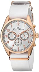 Lucien Piccard Men's LP-10588N-RG-02S Moderna Analog Display Japanese Quartz White Watch