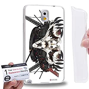 Case88 [Samsung Galaxy Note 3] Gel TPU Carcasa/Funda & Tarjeta de garantía - Kantai Collection Kancolle Symbiotic Hime Harbour Princess Seaport Princess 1024
