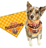 Happy Thanksgiving Dog Bandana - Medium to Large Dogs