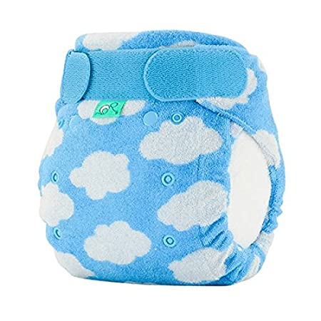 TotsBots Bamboozle Stretch Size 2 Bamboo Fleece Reusable Washable Nappy in Daydream Design Tots Bots Limited