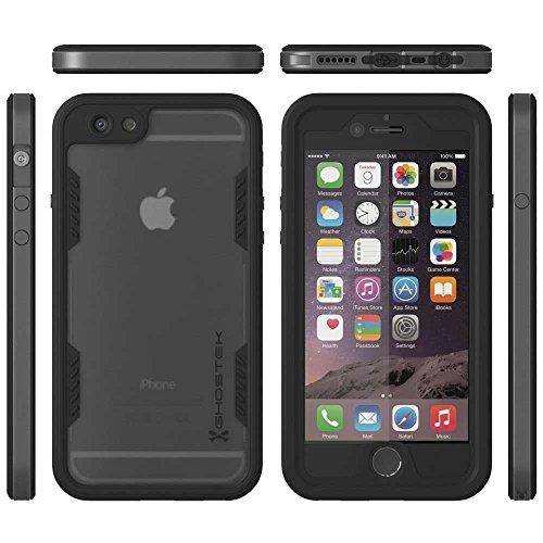 Ghostek Atomic 2.0 Wasserdichte Schutzhülle für Apple iPhone 6 und 6S schwarz