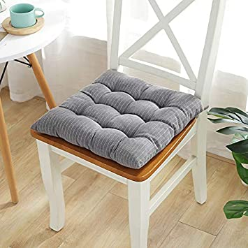 40x40cm. Klassische minimalistische Stuhlkissen f/ür Indoor Outdoor und Garten daliuing Sitzkissen