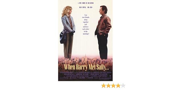 When Harry Met Sally Poster Print Wall Art Gift