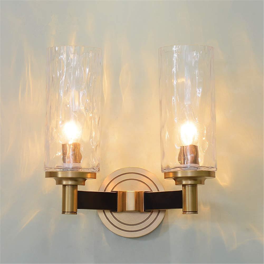 RUIMA ヨーロッパの壁ランプガラスランプボディシンプルなリビングルームの寝室の装飾ランプ B07QX4KSQK