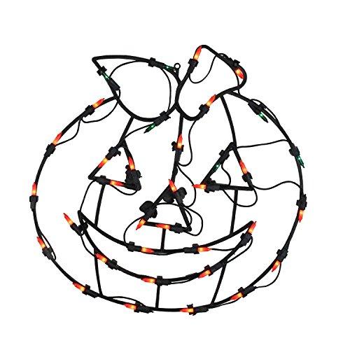 ack-O-Lantern Halloween Pumpkin Window Silhouette Decoration, 18