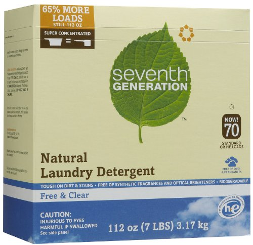 Seventh Gen. Natural Laundry Detergent ( Value Bulk Multi-pack) by Seventh Generation