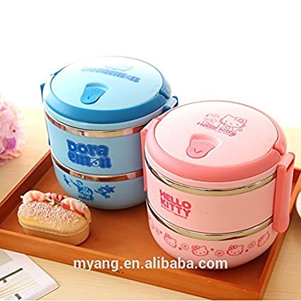 Buy Mantavya 2 Layer Lunch Box Picnic Food Container Tiffin Hot Box
