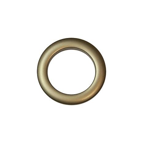 Oeillets A Clipser Pour Rideaux Coloris Bronze Diametre 55 Mm