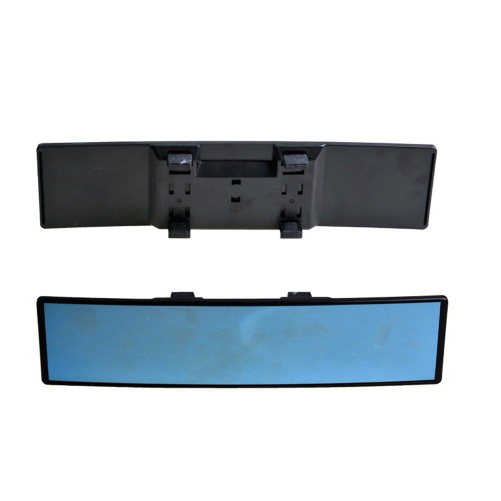 Black VORCOOL Car Interior R/ückspiegel Universal Interior R/ückspiegel Ersatz Weitwinkel High Clarity R/ückspiegel