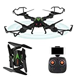 IAMGlobal RC Drone, Foldable Drone, WiFi RC Quadcopter 2.4GHz 4-Axis with HD 2MP 720P Camera Drone