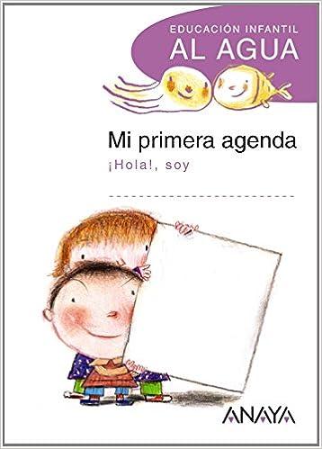 Mi primera agenda. (Al agua): Amazon.es: Anaya Educación: Libros