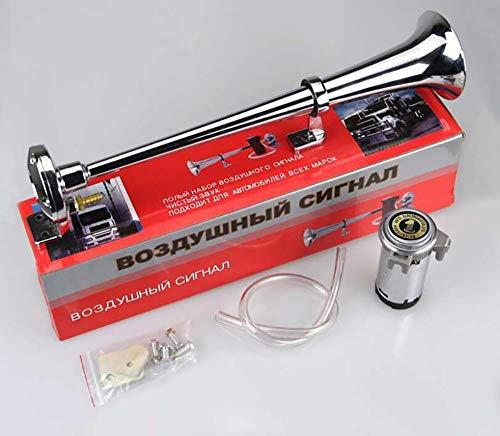 - Ξ AO Star 12V/24V Air Horn 150DB Train Horn Compressor Kit-Single Trumpet Car Air Horn-Truck Vehicle Train Horn Kit,12V