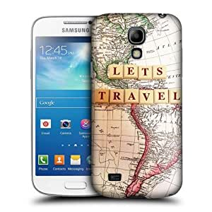 DIY Case Designs Let's Travel The World Protective Snap-on Hard Back Case Cover for Samsung Galaxy S4 mini I9190 Duos I9192 by ruishername