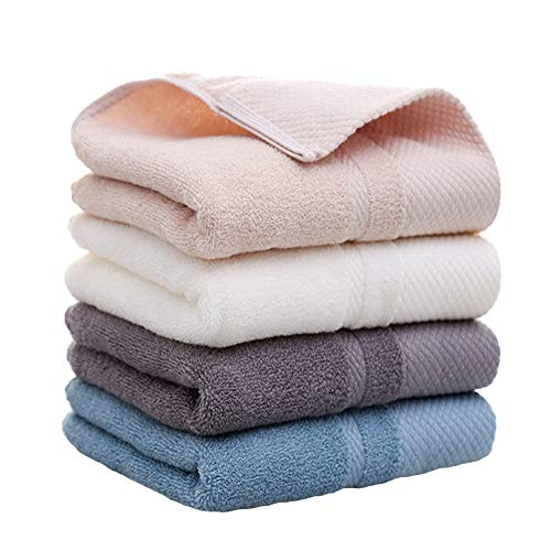 (Plain cotton bath towel Gold satin bath towel cotton wide satin towel, cotton gift towel Cotton plain broken towel thick wide satin towel, absorbent soft and easy to clean double water absorption)