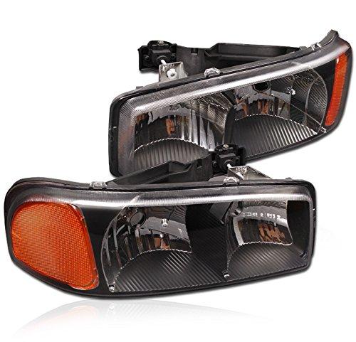 01 gmc sierra crystal headlights - 4