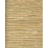 Faux Brown and Tan Grasscloth by Norwall