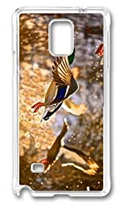 Adorable flying ducks Hard Case Protective Shell Cell Phone Ipod Touch 4 - PC Transparent