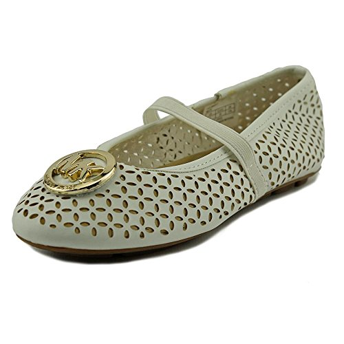Michael Kors Flat Shoes (Michael Michael Kors Faye Maisy Youth US 13 White Mary Janes)